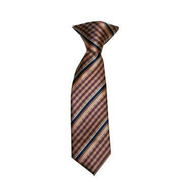 318 Tangerine and Brown Gingham with Black Stripes Baby