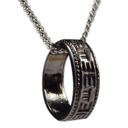 ETTE Ring Necklace (Necklace with Sterling Silver Pendant)