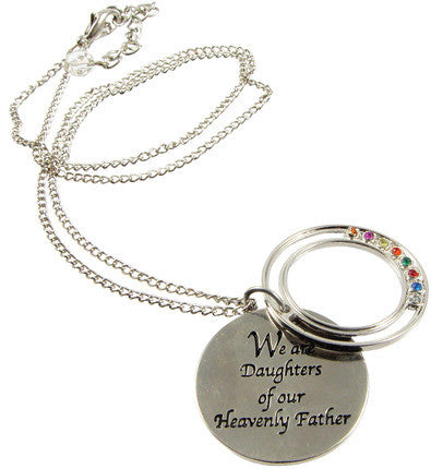 Young Women Values Necklace (Includes Virtue) (Necklace)