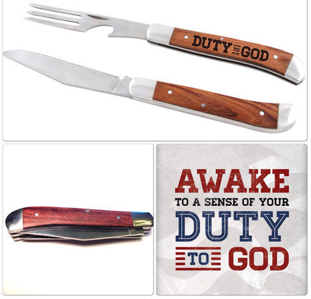 Duty to God Pocket Knife (Accessory)
