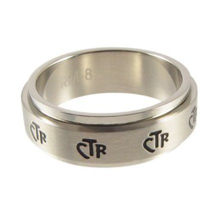 CTR Spinner Ring, Narrow (Size 5)