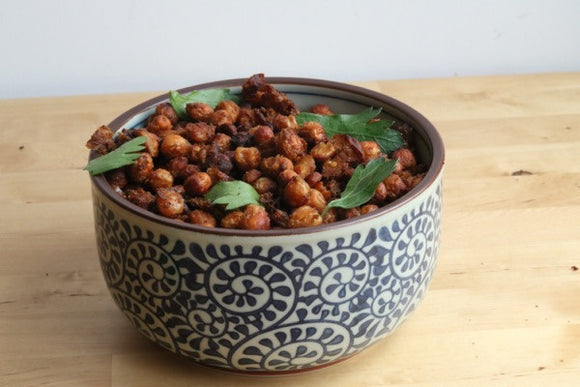 Make your own healthy snack using CHICKPEAS!