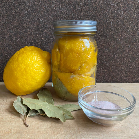 Lacto-Fermented Lemon (Salted Lemon)