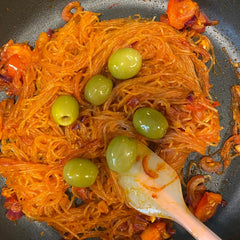 Tomato and Olives Red Vermicelli