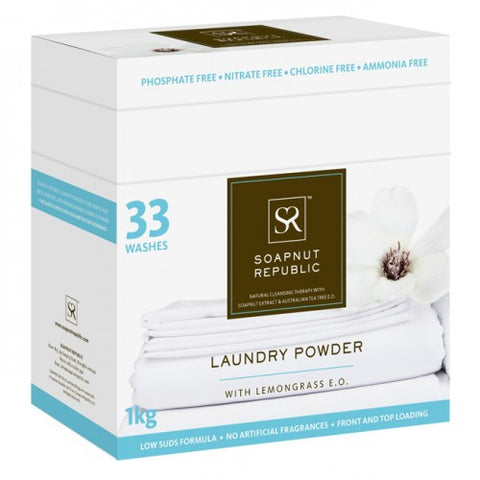 Laundry Powder - Lemongrass Essential Oil