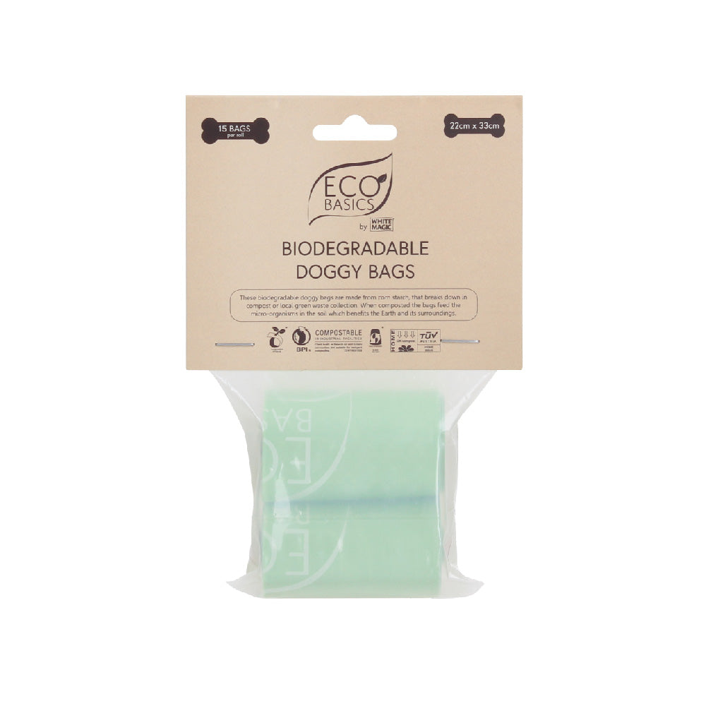 White Magic Eco Basics Biodegradable Doggy Bags - FoodCraft Online Store