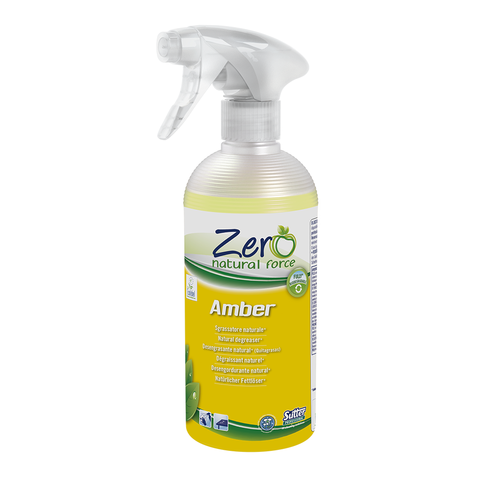 Zero Natural Force AMBER Natural Degreaser (500ml) - Foodcraft Online Store