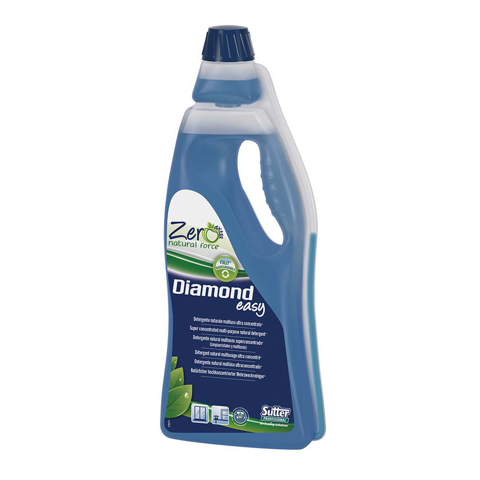 Zero Natural Force - DIAMOND EASY Super Concentrated Multi-purpose Natural Detergent (750ml) - Foodcraft Online Store