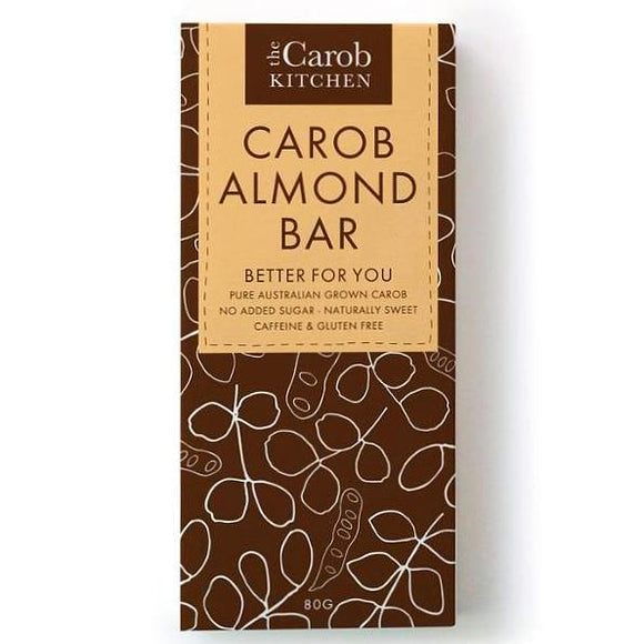 The Carob Kitchen Almond Bar - 80g - FoodCraft Online Store