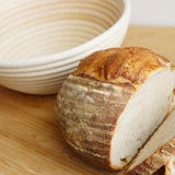 Round Rattan Proofing Bread Basket - 25cm with Liner - FoodCraft Online Store