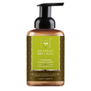 Soapnut Republic Foaming Hand Soap - Lemongrass - 500ml - FoodCraft Online Store