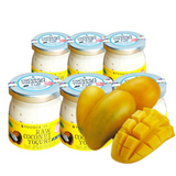 Vegan Soy-Free Coconut Yogurt, Mango - 140g Set of 6 - FoodCraft Online Store