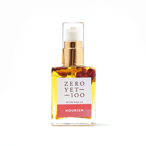 Zero Yet 100 Body Oils - Nourish 30ml - FoodCraft Online Store