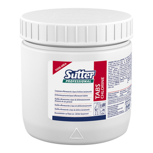 Sutter Professional Chlorine Tabs for Sanitising and Bleaching (150 tablets) - FoodCraft Online Store