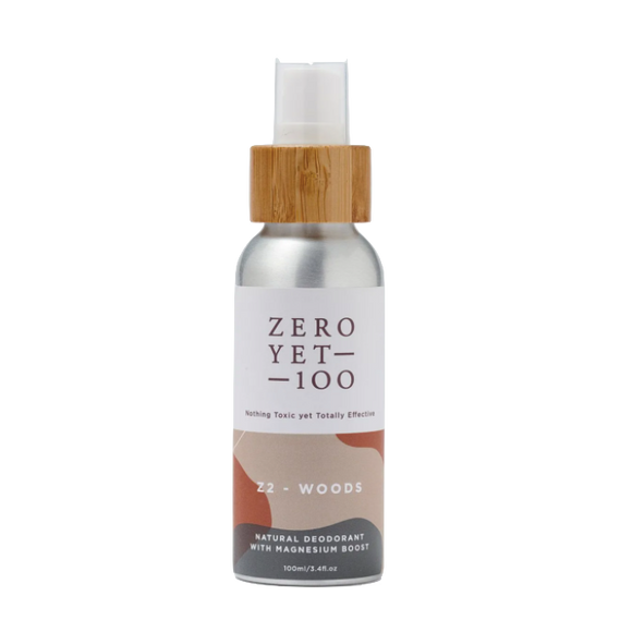 Zero Yet 100 - Z2 Woods Deodorant Spray 100 ml - FoodCraft Online Store