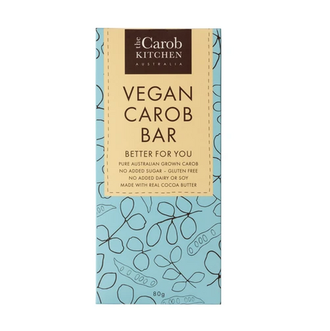 The Carob Kitchen - Carob Vegan Bar 80g - FoodCraft Online Store
