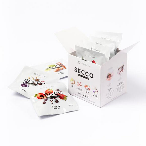 Secco Drink Infusion - Mixed Box (8 units) - FoodCraft Online Store