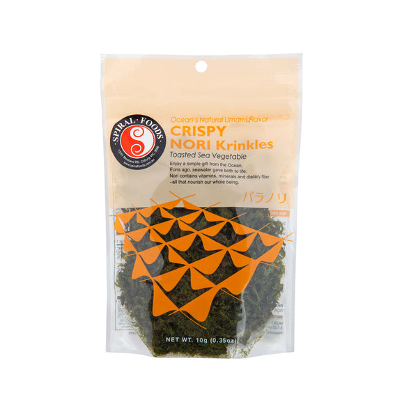 Spiral Foods Crispy Nori Krinkles Toasted Sea Vegetable - 10g - FoodCraft Online Store
