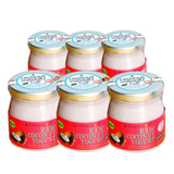 Vegan Soy-Free Coconut Yogurt, Strawberry - 140g Set of 6 - FoodCraft Online Store