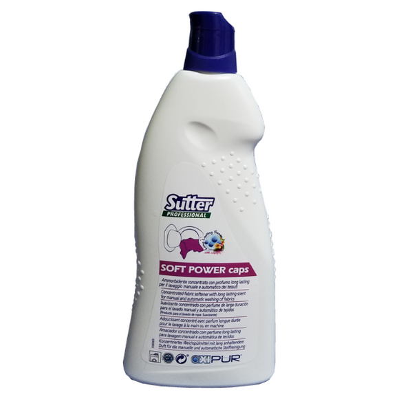 Sutter Soft Power Caps Fabric Softener - 1L - FoodCraft Online Store