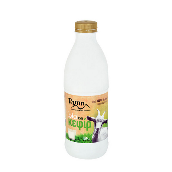 Tempi Organic Kefir from Goat's Milk 1.5% Fat - 250ml - FoodCraft Online Store
