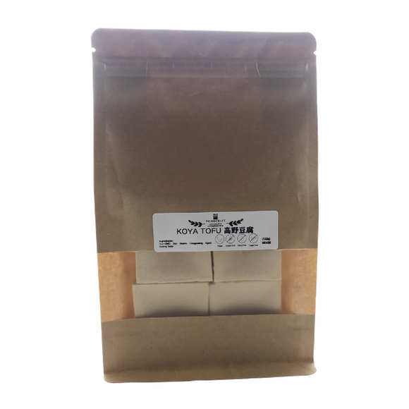 Vegan Koya Tofu - Freeze-Dried Bean Curd - 132g - FoodCraft Online Store