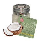 Vegan Soy-Free Coconut Yogurt, Natural - 400g - FoodCraft Online Store