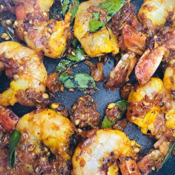 Shrimps Made (SOUTH) Indian Style by Aditi - FoodCraft Online Store