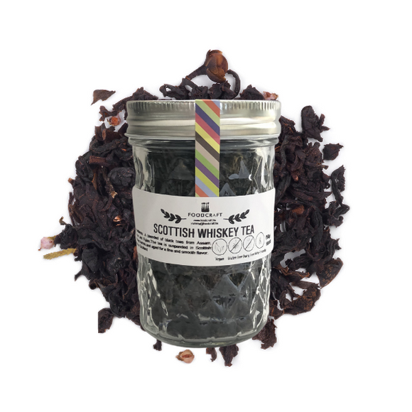 Scottish Whiskey Tea - 50g - FoodCraft Online Store