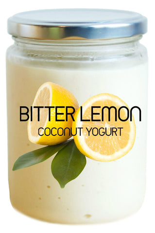 foodcraft bitter lemon vegan coconut yogurt Foodcraft Hong Kong