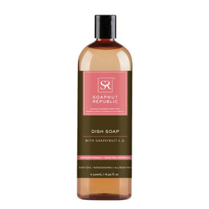 Soapnut Republic Dish Soap - Grapefruit Essential Oil - 500ml - FoodCraft Online Store
