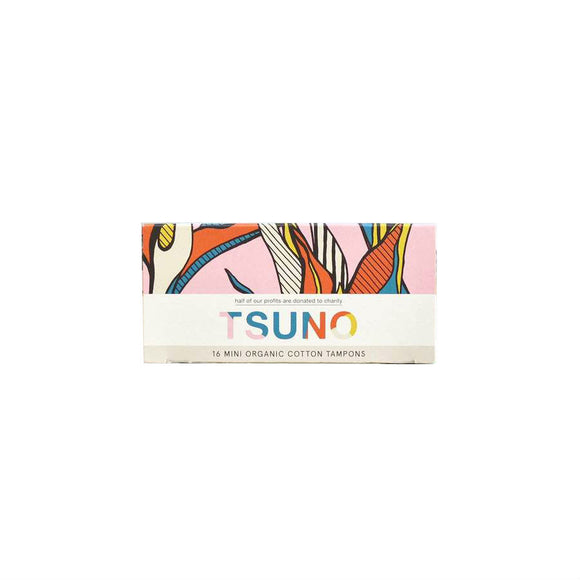 Tsuno Organic Cotton Tampons - Mini - FoodCraft Online Store