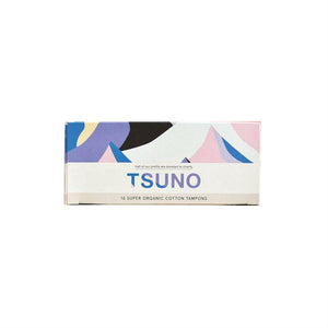 Tsuno Organic Cotton Tampons - Super - FoodCraft Online Store