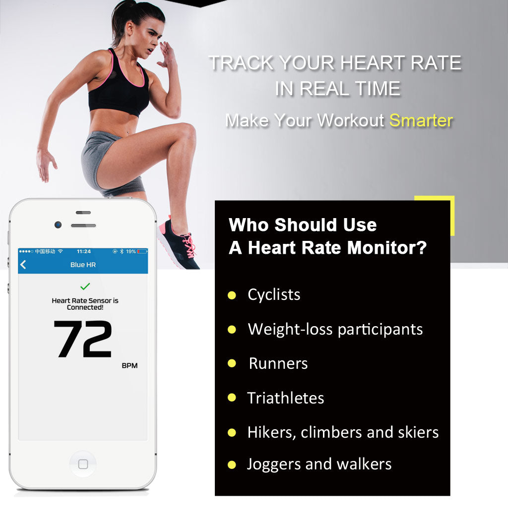 Bluetooth and ANT+ heart rate monitor with chest strap - KYTO2809 - KYTO  Fitness Technology