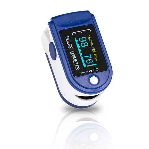Fingertip blood oxygen pulse rate oximeter SpO2 monitor - KYTO8201