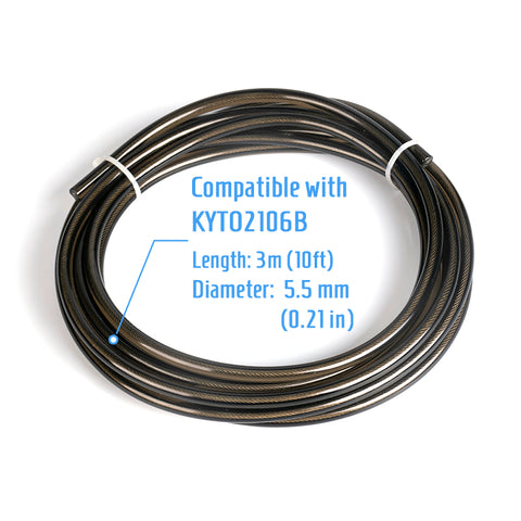 Steel wire rope for KYTO2106B skipping jump rope or other models