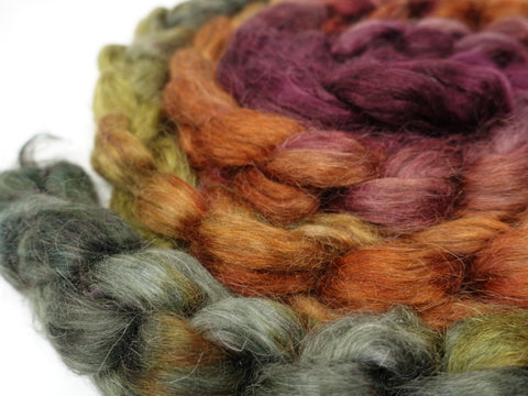 Hand Dyed Non-Wool Fibres