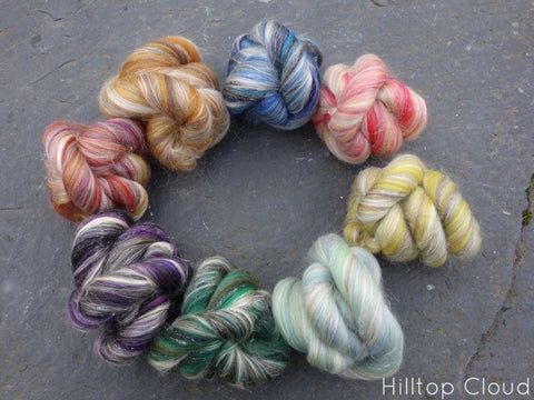 Ceilidh Collection.  Sample Pack, 8 colours, 160g - Hilltop Cloud