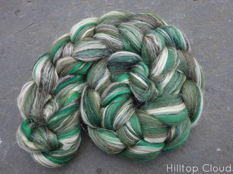 Yule- Ceilidh Collection. Blended Fibre, 100g - Hilltop Cloud - 1