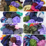Mixed Bag- 500g 19 micron Merino. Assorted colours