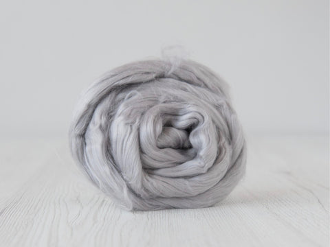 Cotton Sliver- 50g & 100g- Cloud (DHG)