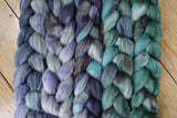 Fade Pack- Corriedale, Yak & Rose, 5 co-ordinating braids, Hand Dyed, 500g