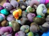 Les Petits Rambouillet, Hand Dyed Combed Top, 100g, Assorted Colour goodie bag