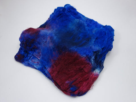 Silk Hankies, Hand Dyed 50g
