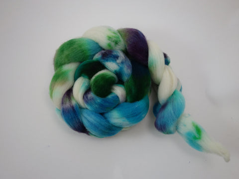 Charollais, Hand Dyed Combed Top, 100g- Variegated