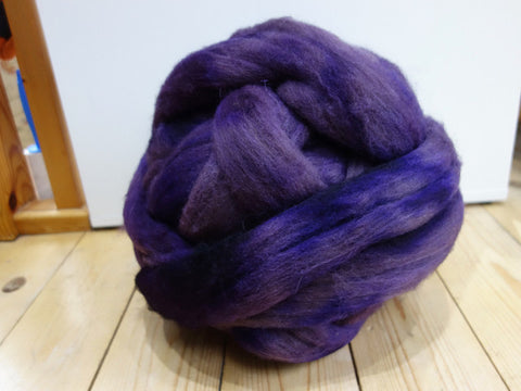 Shetland Sweater Pack, 500g, Hand Dyed Combed Top