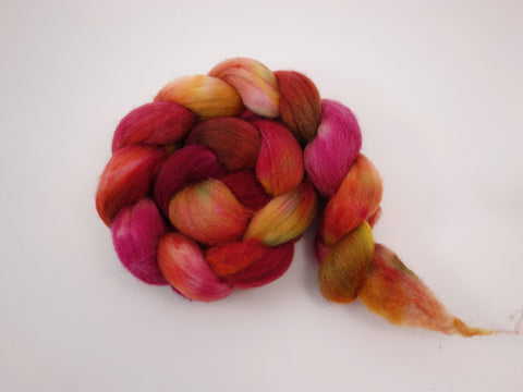 Superfine Shetland, Hand Dyed, Variegated , British Wool, 100g