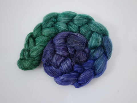 Camel, Seacell & Faux Cashmere, Hand Dyed Gradient, 100g