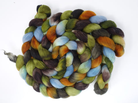 Superfine Shetland, Hand Dyed, Repeating colourway, 100g