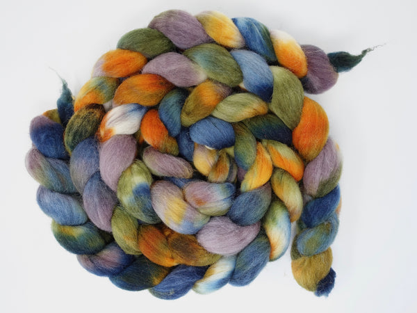 Southdown, Hand Dyed Combed Top, 120g, Variegated Colourway